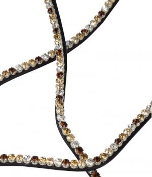 PS of Sweden Stirnband Click It Sleek Fudge Crystal
