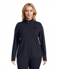 PS of Sweden Base Layer Anna Longsleeve Curvy Line - navy