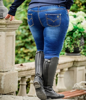PS of Sweden Reithose Jeans Jeanie Kneegrip CurvyLine
