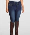 PS of Sweden Reithose Jeans Jeanie Kneegrip CurvyLine - jeansnavy