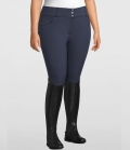 PS of Sweden Reithose Jewel FullGrip CurvyLine - navy