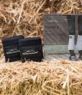 Equine Microtec Bandagen Fleece Classic 4er Set - anthrazit