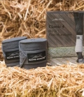 Equine Microtec Bandagen Fleece Classic 4er Set - graphit