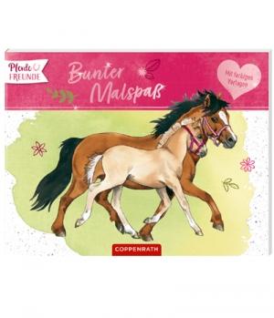 Bunter Malspaß Pferdefreunde