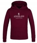 Kingsland Sweat Hoodie Classic Youth - burgundy