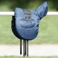 Passier Sattelschoner Ripstop mit Tasche - blau