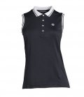 PS of Sweden Shirt Polo ohne Arm Minna - navy