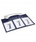 Kingsland Startnummern Kopfnummern - navy