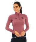 Spooks Shirt Damen Sport Sophie FS´21 - darkrose