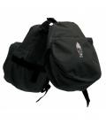Barefoot Hornbag Doppeltasche Front - schwarz