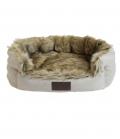 Kentucky Dogwear Hundebett Cave FauxFur Premium - brown