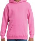 Textil Hooded Sweatshirt Youth Kängurutasche - azalea