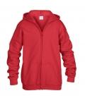 Textil Sweat Jacke Kids Sale - rot