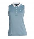 PS of Sweden Shirt Polo ohne Arm Minna - aqua