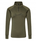 Covalliero Shirt Active atmungsaktiv elastisch - khaki