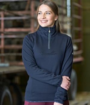 Covalliero Sweater mit hohem Kragen flauschig HW21