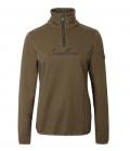 Covalliero Sweater mit hohem Kragen flauschig HW21 - cappuccino