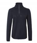 Covalliero Sweater mit hohem Kragen flauschig HW21 - darknavy