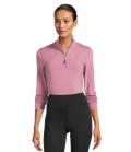 PS of Sweden Sweatshirt Alessandra mit Zipper HW´21 - berry