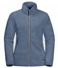 Jack Wolfskin Fleecejacke High Cloud Jacket Damen HW21 - frost blue