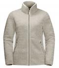 Jack Wolfskin Fleecejacke High Cloud Jacket Damen HW21 - dusty grey