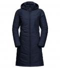 Jack Wolfskin Mantel North York Coat Damen HW´21 - mittelblau