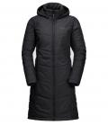 Jack Wolfskin Mantel North York Coat Damen HW´21 - schwarz
