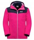 Jack Wolfskin Jacke Snowfrost 3 in 1 Youth HW´21 - pink peony