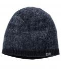 Jack Wolfskin Strickmütze Stormlock Foggy Cap HW´21 - nachtblau