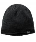 Jack Wolfskin Strickmütze Stormlock Foggy Cap HW´21 - schwarz