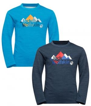 Jack Wolfskin Shirt Vargen Longsleeve Youth HW´21