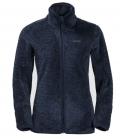 Jack Wolfskin Fleecejacke Pine Leaf Jacket Damen HW´21 - nachtblau