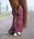 Horseware Transportgamaschen Rambo Ripstop 4er Set - burgundy
