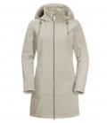 Jack Wolfskin Mantel Wind Valley Coat Damen HW´21 - dusty grey