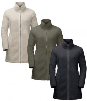 Jack Wolfskin Fleecemantel High Cloud Coat Damen HW´21