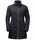 Jack Wolfskin Fleecemantel High Cloud Coat Damen HW´21 - phantom