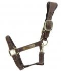 Kentucky Horsewear Halfter Anatomisch Wildleder - braun