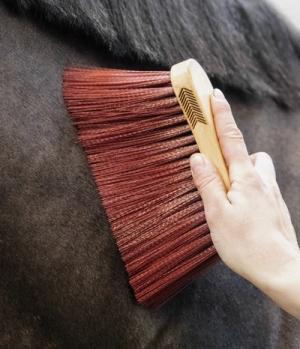 Kentucky Horsewear Bürste Middle Brush Long Naturel