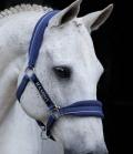 Horseware Halfter Rambo Nylon Fleece unterlegt - royalblau