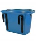 Waldhausen Trog mit Henkel und Haken - blau