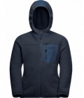 Jack Wolfskin Jacke Ice Cloud Hood Jacket Youth HW´21 - nachtblau
