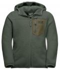 Jack Wolfskin Jacke Ice Cloud Hood Jacket Youth HW´21 - thyme green