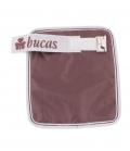 Bucas Brusteinsatz für Bucas Decke Click & Go - braun