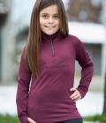 Covalliero Active Shirt elastisch Youth HW´21 - aubergine