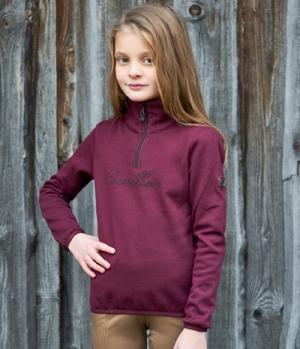 Covalliero Sweater Youth mit hohem Kragen HW´21