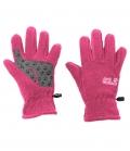 Jack Wolfskin Fleecehandschuhe Fleece Glove Kids HW´21 - pink peony