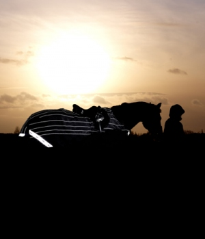 Horseware Ausreitdecke Amigo Reflectech 50g