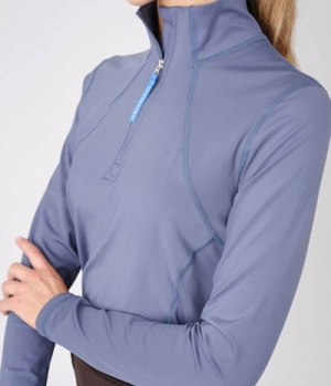 PS of Sweden Shirt Damen Funktion Base Layer Alex Zip