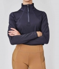 PS of Sweden Shirt Damen Funktion Base Layer Alex Zip - navy
