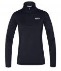 Kingsland Shirt Trainingsshirt KLmoya Zip Damen - schwarz